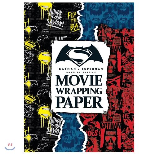 MOVIE WRAPPING PAPER_ 배트맨 대 슈퍼맨: 저스티스의 시작