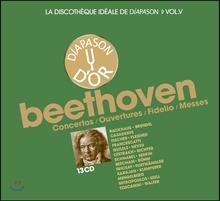디아파종 베토벤 협주곡, 서곡, 피델리오, 미사 명연주 박스세트 13CD (La Discotheque Ideale de Diapason Vol.5 - Beethoven: Concertos, Overtures, Fidelio, Messes)