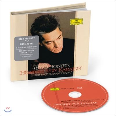 Herbert von Karajan 베토벤: 9개의 교향곡 - 베를린 필하모닉, 헤르베르트 폰 카라얀 1963년 연주 (Beethoven: 9 Symphonies)