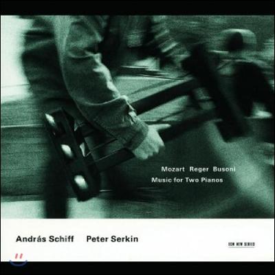 Andras Schiff 부조니 / 모차르트 / 레거: 2대의 피아노를 위한 작품집 - 안드라스 쉬프 (Music For Two Piano)