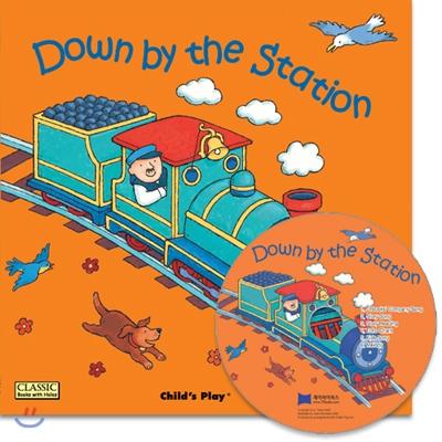 [노부영 세이펜]Down by the Station (원서 & 노부영 부록 CD)