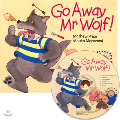 [노부영 세이펜] Go Away Mr Wolf! (원서 & 노부영 부록 CD)