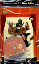 Ready Action Level 1 : Halloween Witch (Drama Book + Workbook + CD)