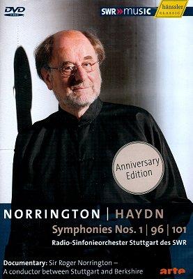 Roger Norrington 하이든 : 교향곡 1번, 96번, 101번 `시계` 및 다큐멘터리 (Haydn : Symphonies no.1, no.96, no.101)