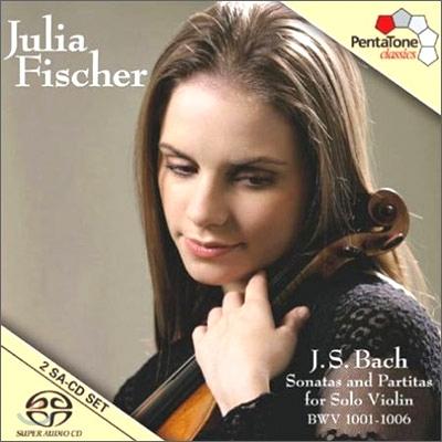 Julia Fischer 바흐: 무반주 바이올린 소나타와 파르티타 (Bach: Sonatas & Partitas for solo violin, BWV1001-1006) 율리아 피셔