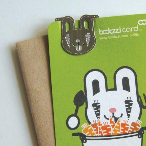 [책갈피 카드] 먹보 토끼씨 북찌카드