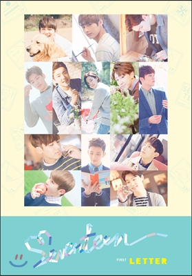 세븐틴 (Seventeen) 1집 - First 'Love&Letter' [LETTER Ver.]