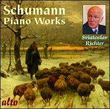 Sviatoslav Richter 슈만: 피아노 작품집 - 교향적 연습곡, 환상 소품집, 다양한 소품 (Schumann: Piano Works - Symphonic Etudes Op.13, Bunte Blatter Op.99, Fantasiestucke Op.12) 스비아토슬라브 리히터