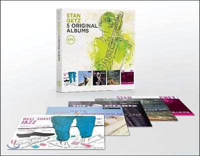 Stan Getz (스탄 게츠) - 5 Original Albums with Full Original Artwork
