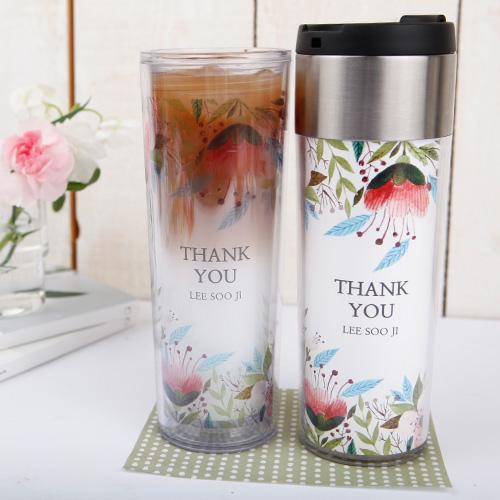 [주문제작]스텐 텀블러벚꽃엔딩