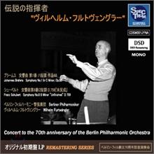 전설의 지휘자 - 빌헬름 푸르트벵글러: 초반 복각 시리즈 제1탄 (Wilhelm Furtwangler Spectrum Sound Jyna Series)