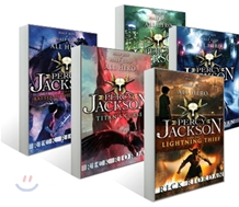 Percy Jackson and the Olympians #1 - 5 set