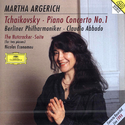 Martha Argerich 차이코프스키: 피아노 협주곡 1번, 호두까끼 인형 - 두 대의 피아노 편곡반 (Tchaikovsky: Piano Concerto No.1, Nutcracker Suite) 마르타 아르헤리치