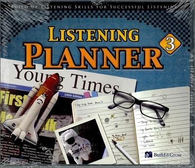 Listening Planner 3 : Audio CD + MP3