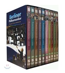 베를린 필하모닉 유로피안 콘서트 박스세트 1991-1999 (berliner Philharmoniker)
