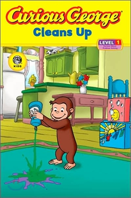 Curious George : Cleans Up