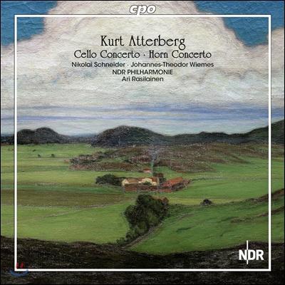 Ari Rasilainen 쿠르트 아테르베리: 첼로 협주곡, 호른 협주곡 (Kurt Atterberg: Cello Concerto Op.21, Horn Concerto Op.28) 아리 라질라이넨, 니콜라이 슈나이더, 요하네스 테오도르 비메스