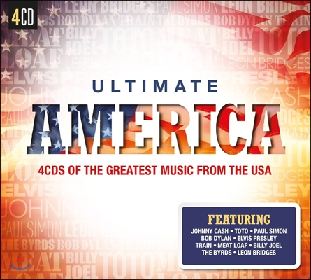 가장 사랑받는 미국 팝송 베스트 72곡 (Ultimate America : 4CDs Of The Greatest Music From The USA)