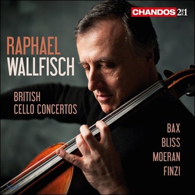Raphael Wallfisch 라파엘 월피쉬 - 영국의 첼로 협주곡: 백스 / 블리스 / 모란 / 핀지 (British Cello Concertos: Gerald Finzi, Arnold Bax, A. Bliss, E.J. Moeran)