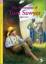 Compass Classic Readers Level 2 : The Adventures of Tom Sawyer (Book+CD)