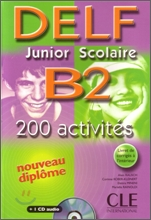 Delf Junior scolaire B2 (+CD, Corriges)