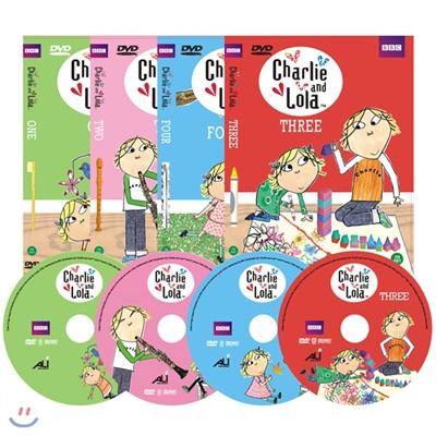 DVD 찰리와 롤라 1집 4종세트 Charlie and Lola