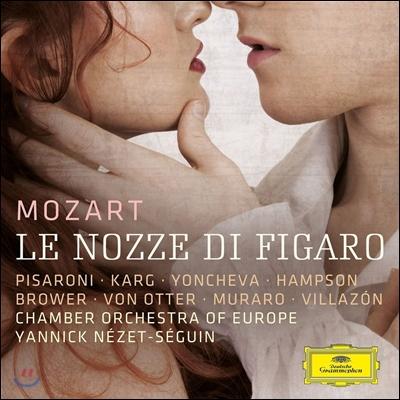 Yannick Nezet-Seguin / Rolando Villazon 모차르트: 오페라 '피가로의 결혼' (Mozart: Le Nozze di Figaro) 비야손, 욘체바, 햄프슨, 폰 오터, 네제 세갱