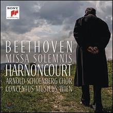 Nikolaus Harnoncourt 베토벤: 장엄미사 [마지막 레코딩] - 니콜라우스 아르농쿠르, 콘첸투스 무지쿠스 빈 (Beethoven: Missa Solemnis Op.123)