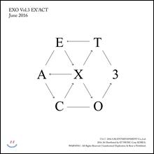 엑소 (EXO) 3집 - EX'ACT [Korean Ver.]