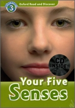 Oxford Read and Discover 3 : Your Five Senses (Book & CD)