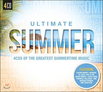 Ultimate Summer (얼티밋 섬머) - 4CDs Of The Greatest Summertime Music