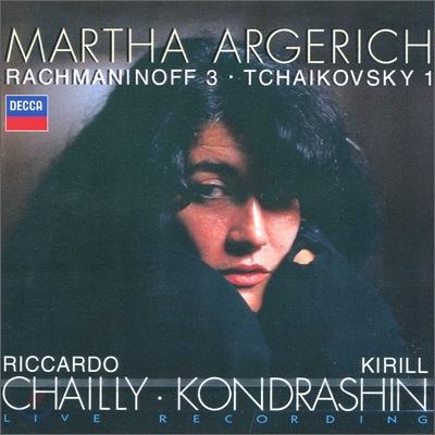 Martha Argerich 라흐마니노프 : 피아노 협주곡 3번 / 차이코프스키 : 협주곡 1번 (Rachmaninov / Tchaikovsky : Piano Concerto) 마르타 아르헤리치