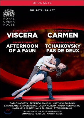 Royal Ballet 로열 발레단 4개의 창작발레 - 조지 발란신: 차이콥스키 파드듀 / 카를로스 아코스타: 카르멘