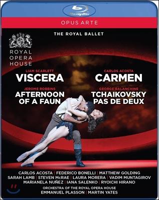 Royal Ballet 로열 발레단 4개의 창작발레 모음 - 조지 발란신: 차이콥스키 파드듀 / 카를로스 아코스타: 카르멘