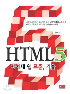 HTML5 차세대 웹 표준, 기술