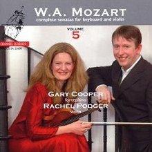 모차르트 : 바이올린 소나타 5집 - 레이첼 포저 (SACD)