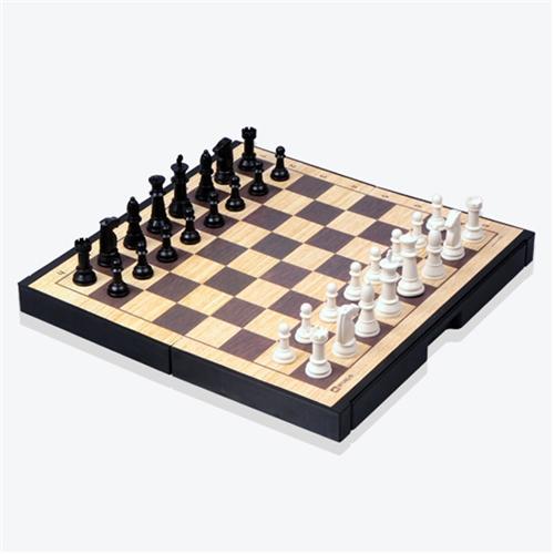[명인바둑] 중형 자석 체스(단면) M-200/ABC미니체스교본 포함 /보드게임