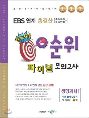 EBS 연계 총결산 0순위 파이널 모의고사 생명과학 1 (2016년)