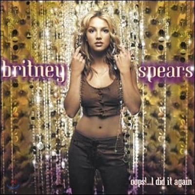 [중고] Britney Spears / Oops!...I Did It Again (수입/펀칭)