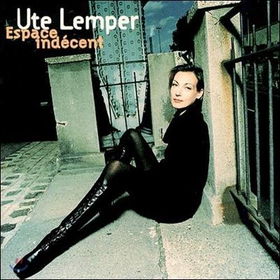 [중고] Ute Lemper / Espace Indecent (프로모션용)