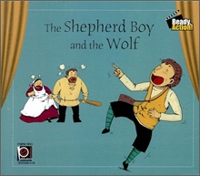 Ready Action Level 1 : The Shepherd Boy and the Wolf (Audio CD)