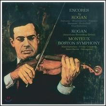 Leonid Kogan 레오니드 코간 RCA 녹음집 - 소품집 '앙코르' & 하차투리안: 바이올린 협주곡 / 생상스: 하바네즈 (RCA Recordings - Encores & Khachaturian / Saint-Saens)