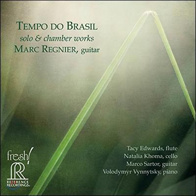 Marc Regnier 템포 도 브라질 - 솔로와 실내악 기타 작품 (Tempo Do Brasil - Solo & Chamber Works) 마크 레니에 [HDCD]