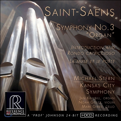 Michael Stern 생상스: 교향곡 3번 '오르간', 서주와 론도 카프리치오소 외 (Saint-Saens: Symphony 'Organ', Introduction & Rondo Capriccioso) [HDCD]