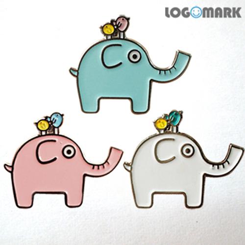 코끼리 뱃지