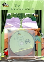 Ready Action Level 1 : The Enormous Turnip (Drama Book + Workbook + Audio CD)