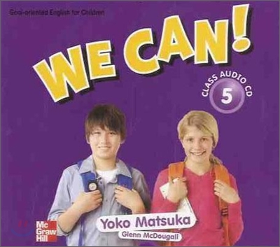 We Can! 5 : Class Audio CD