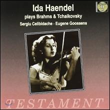 Ida Haendel 브람스 / 차이코프스키: 바이올린 협주곡 (Brahms / Tchaikovsky: Violin Concerto Op.77 Op.35) 이다 헨델