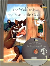 Ready Action Level 1 : The Wolf and the Five Little Goats (Drama Book + Workbook + Audio CD)