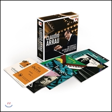 Claudio Arrau 클라우디오 아라우 - RCA 빅터, 콜럼비아 앨범 컬렉션 전집 박스세트 한정반 (The Complete RCA Victor and Columbia Album Collection)